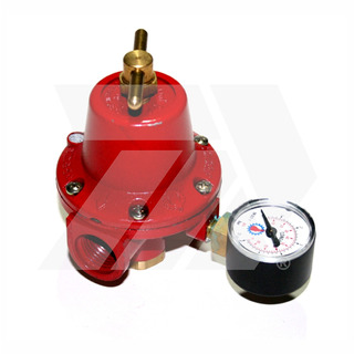 Regulador De Alta Presión Con Manómetro Para Gas Lp R3a-m