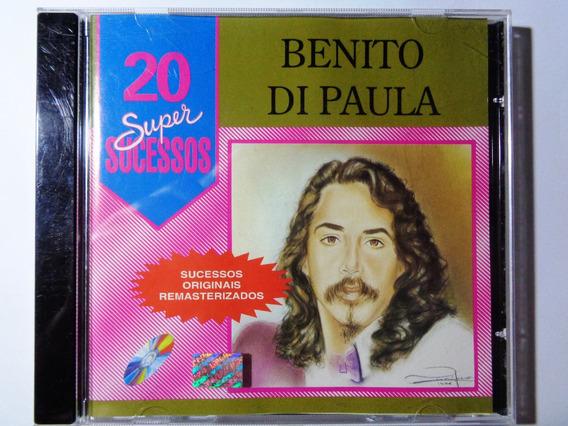Cd Original Benito Di Paula 20 Super Sucessos
