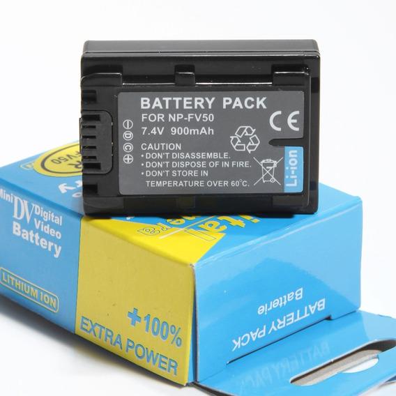 Bateria Np-fv50 P/ Filmadora Sony Handycam Dcr-sr68 Dcr-sr88