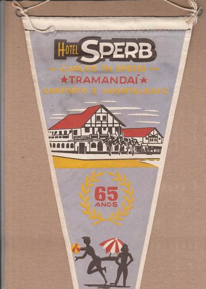 Flâmula Antiga - Hotel Sperb - Tramandai - 65 Anos 1963 - Ao