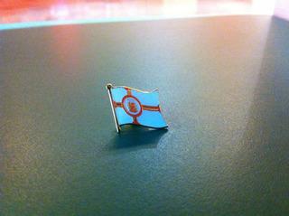 Pin Da Bandeira Da Cidade De São Paulo
