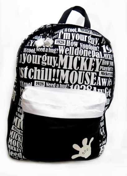 Mochila Espalda Mickey No Infantil Varios Motivos Childrens