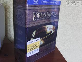 El Señor De Los Anillos Trilogy Extended Bluray Box Set 15 D