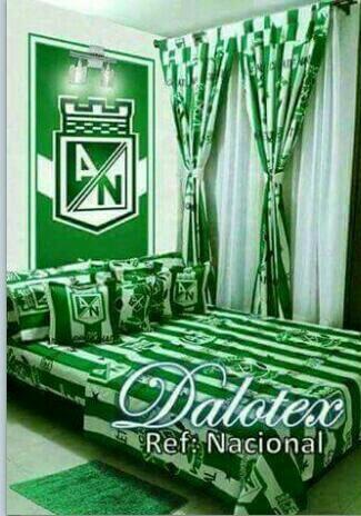 Sabana Atlético Nacional Cama Doble 1.40
