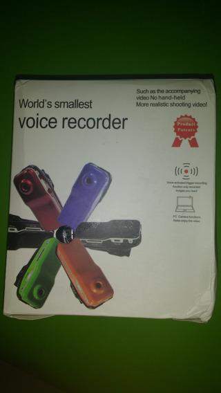 Mini Dv, Ativado Por Voz,novo,na Caixa