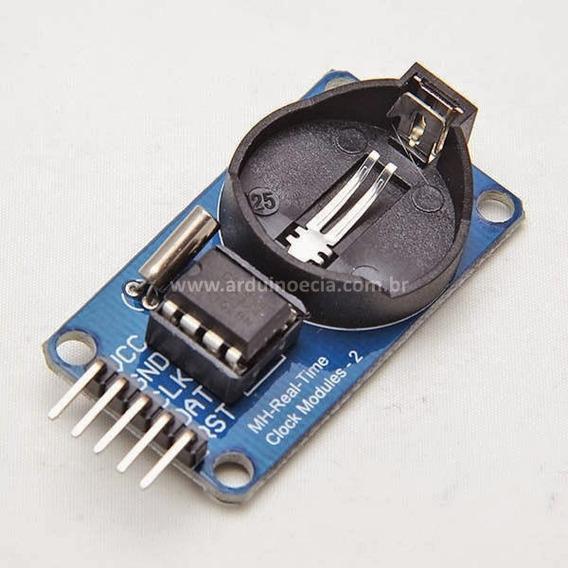 Módulo Rtc Ds1302 Relógio Real Time Clock Arduino
