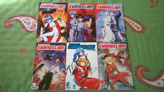 *jl Lote De 6 Livros Mangá Neon Genesis Evangelion*