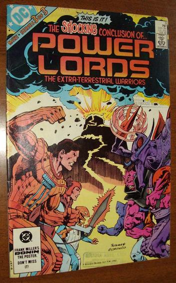 Gibi Super Heróis Antigo Anos 80 Obscuro Power Lords Raro
