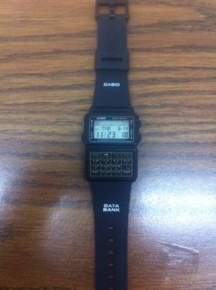Reloj Casio Data Bank 1980 Modelo Dbc-60