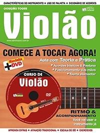 Método Violão Primeira Edição Dvd + Revista