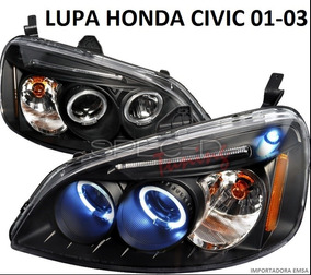 Focos Lupas Honda Civic 01-03, Jdm Oferta