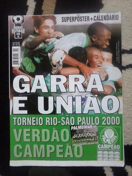 Palmeiras Poster Rio São Paulo 2000
