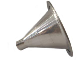 Kit C/ 10 Corneta De Alumínio Cone Curto De Rosca Canequinho