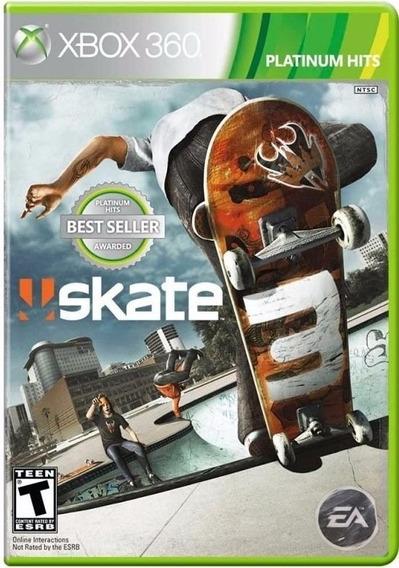 Skate 3 (mídia Física) - Xbox 360
