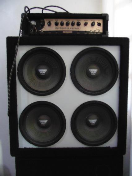 Caixa 4x10 Baixo Padrão Hactke 600rms (4 Oversound Cx 1034)