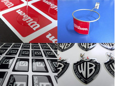 Calcos Dome Publicidad Etiquetas Resinadas Calcos 3d Resina