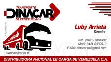 Mudanzas Fletes Transporte Maracaibo Repartos Vanes Camiones