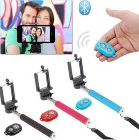 Pau Bastão De Selfie + Controle Bluetooth Á Pronta Entrega