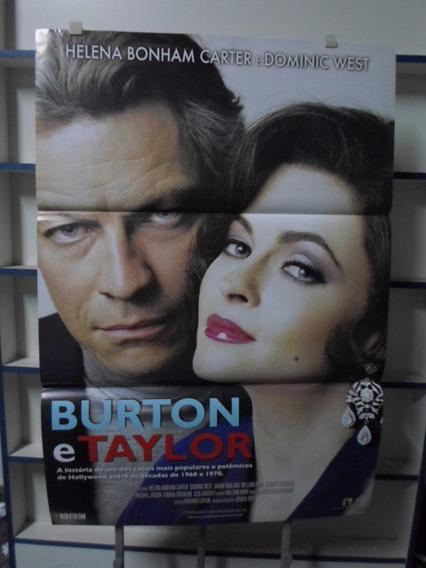 Poster Burton & Taylor - 64 X 94