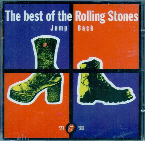 Cd The Rolling Stones - The Best Of Jump Back 71/ 93 - Novo*