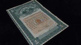 Apólice Da Dívida Pública 1913 Um Conto De Réis República