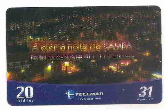 6215 Ba 06/06 (defeito Tremido) A Eterna Noite De Sampa