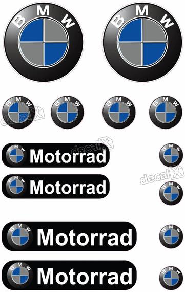 Kit Adesivos Capacete Moto Bmw Motorrad Refletivo Ktcp21