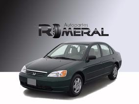 Honda Civic 2002 Autopartes Piezas Venta Por Partes Chocados