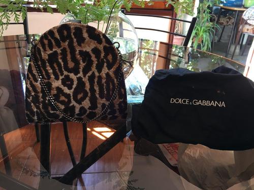 Clutcher De Fiesta Dolce & Gabbana Animal Print Leopardo