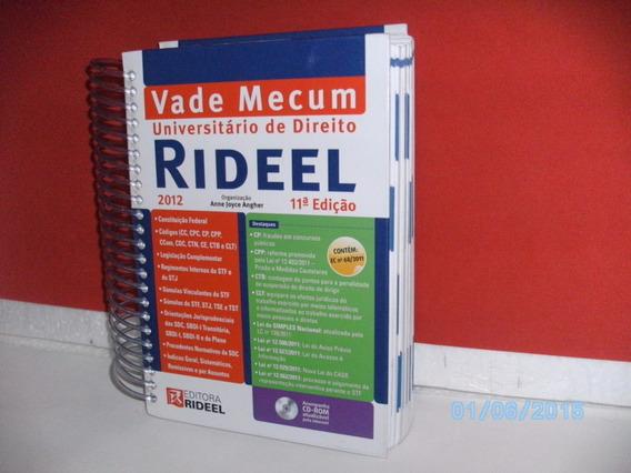 Vade Mercum Universitário De Direito 11ª Ediç- Ed.ridel/2012