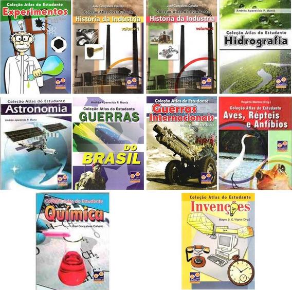 Coleção Atlas Do Estudante - 10 Volumes - Reforço Escolar