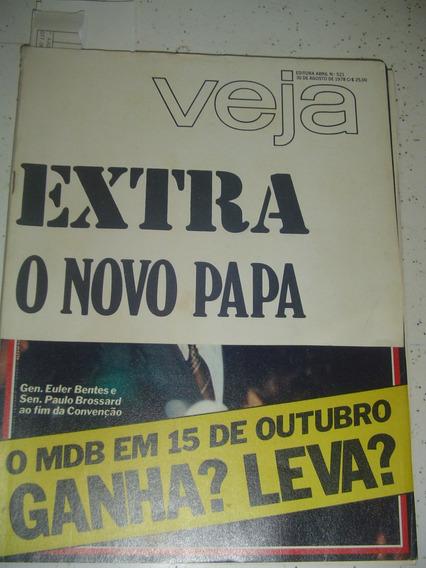 Revista Veja 521 Papa João Paulo I Farnese De Andrade 1978