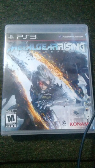 Metalgear Rising Revengeance Semi Novo Original Ps3
