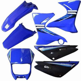 Kit Carenagem Plasticos Adesivado Yamaha Xtz 125 2006 A 2008