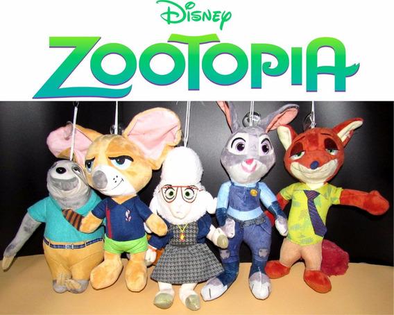 Pelúcia Zootopia Disney Musical Desenho, Presente Excelente!