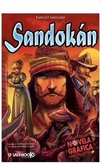 Libro Novela Sandokán Grafica, Producto Original.