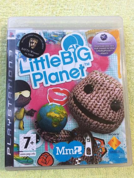 Little Big Planet Ps3 Midia Fisica Frete R$10