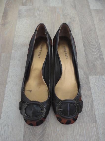 Zapatos Animal Print Pelo Nine West