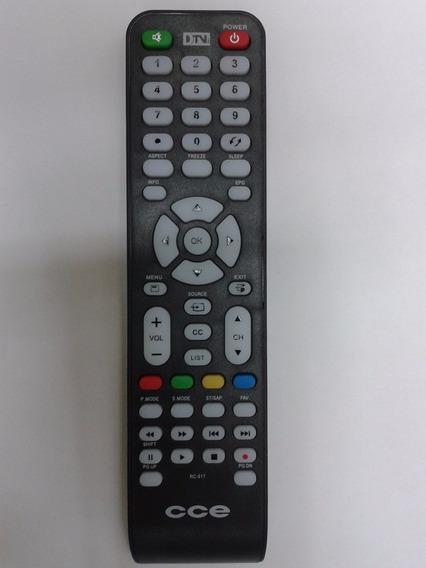 Controle Remoto Novo E Originaltv Lcd Led Cce Rc-512 Stile