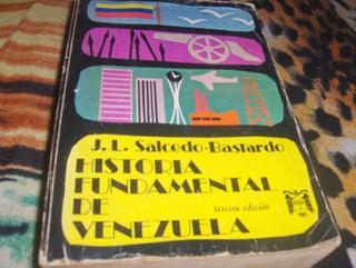 Historia Fundamental De Venezuelq Salcedo Bastardo
