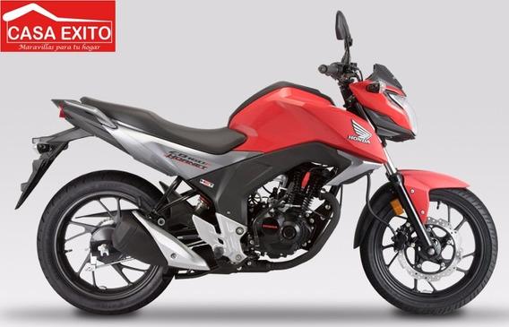 Moto Honda Cb160f 160cc Año 2020 Rojo Negro