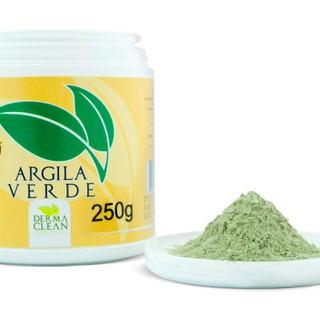 Argila Verde Em Pó - 250g - Dermaclean