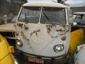 Vw Van Kombi 1974 P/ Restaurar Tem Documentaçao E Motor