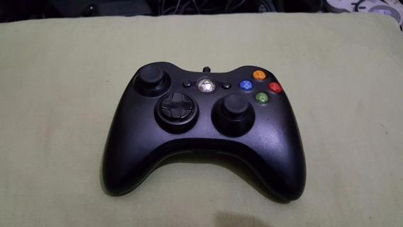 Controle Original Xbox 360 Com Fio Mas O Fio Esta Cortado A2