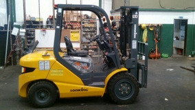 Autoelevador Lonking 3000 Kg / Elevación 4,5 Mts Desplazador