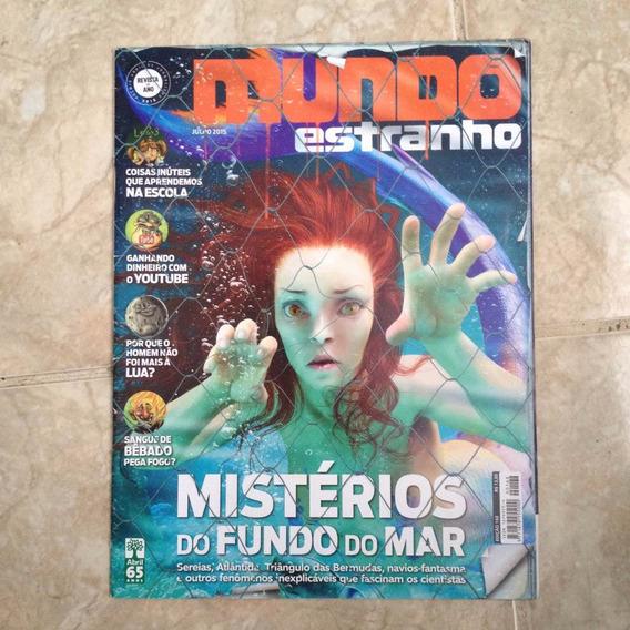 Revista Mundo Estranho 168 Mistério Do Fundo Do Mar