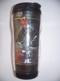 Star Wars Vaso Termo Termico Conmemorativo Episodio 1 3d
