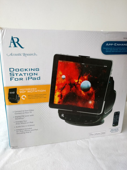 Lote Dock Station Para iPad iPod iPhone Acoustic Research