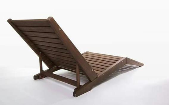 Cadeira Espreguiçadeira Piscina