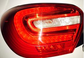 Lanterna Mercedes A200 Led Esquerda Plug Cinza
